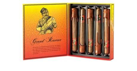 Набор Gurkha Grand Reserve Robusto Natural