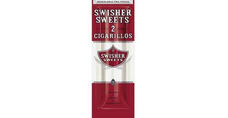2 Swisher Sweets Sweet Cigarillos