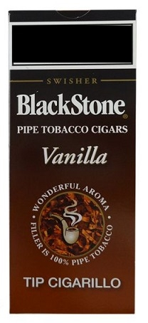 5 BlackStone Vanilla Tip Cigarillo