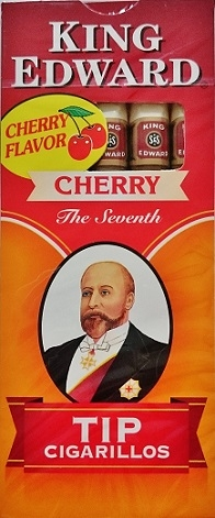 5 King Edward Cherry Tip Cigarillos