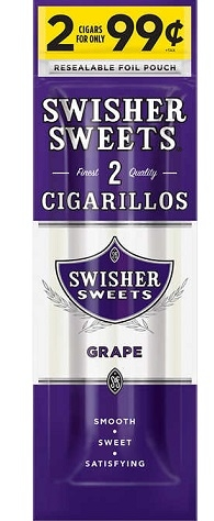 Изображение к 2 Swisher Sweets Grape Cigarillos